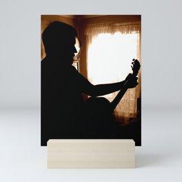 Guitar Player Mini Art Print