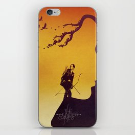 The Hunger Games iPhone Skin