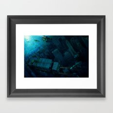 The End of the Beginning Framed Art Print