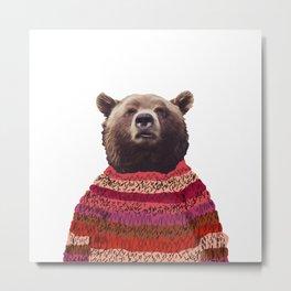 Great Northern Bear Metal Print