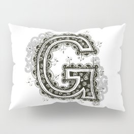 Color Me G Pillow Sham