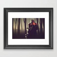 Sin City woods Framed Art Print