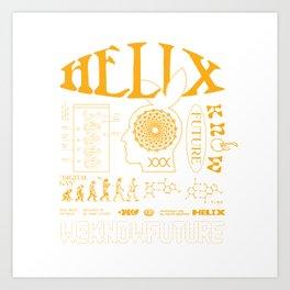 WKF X HELIX Art Print