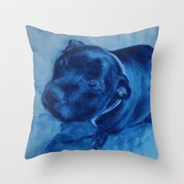 Rex Begs Throw Pillow