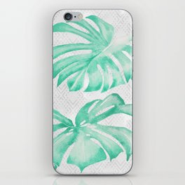 city leaf iPhone Skin