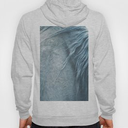 Wild horse photography, fine art print of the mane, for animal lovers, home decor Hoody
