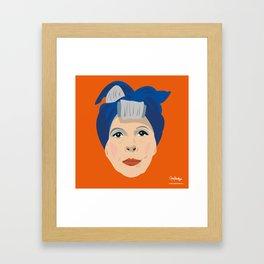 Ruth Gordon as Minnie from Rosemary's Baby Framed Art Print