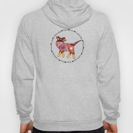 Peace Love and Cattle dogs Hoody
