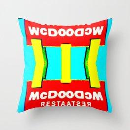 Mc Dood Throw Pillow