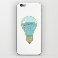 Life in a lightbulb. Day iPhone & iPod Skin
