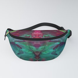 Distorted Flora 1 Fanny Pack