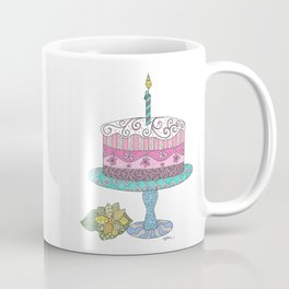 Birthday Cake Coffee Mug