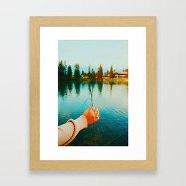 Lake Days Framed Art Print