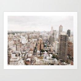 Rosy New York Art Print