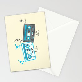 Mixed-Up Tapes Stationery Cards