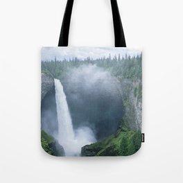 Chasing Waterfalls -- Helmcken Falls Tote Bag