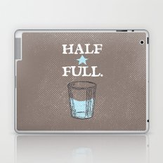 Half Full Laptop & iPad Skin