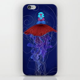 The Jellyfish Whisperer iPhone Skin