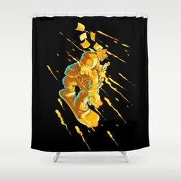 The Messenger Shower Curtain