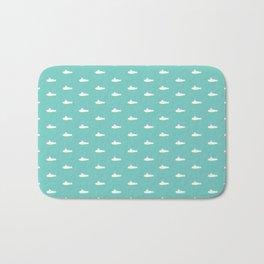 Tiny Subs - Teal Bath Mat