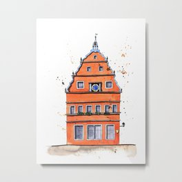 whimsical house in Germany Metal Print