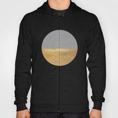 Color Blocked Gold & Grey Hoody