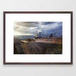 Prepare For Takeoff Framed Art Print