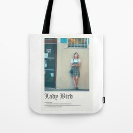 lady bird movie Tote Bag