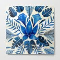 Tropical Symmetry – Navy by catcoq