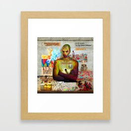 """CITY OF COLORS """"The Alien Nation Collection"""" Framed Art Print"""