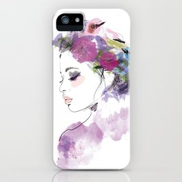Like a bird iPhone Case