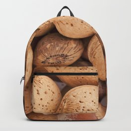 Hazelnuts and almonds Backpack
