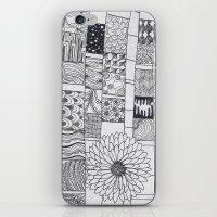 calendar iPhone & iPod Skins featuring Bloom Calendar by sinonelineman