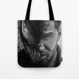 Eddie Brock/Venom Tote Bag