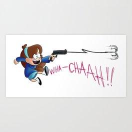 GRAPPLING Hook! Art Print