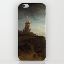 Rembrandt van Rijn - The Mill iPhone Skin