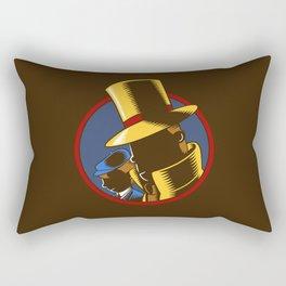 The Hardboiled Professor Rectangular Pillow