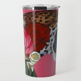 Jaguar Warrior Travel Mug