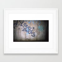 gucci Framed Art Prints featuring Gucci by Egle Elle