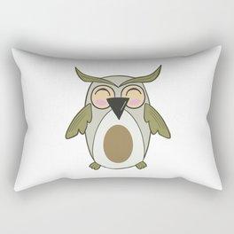 Owl - Nightbird Bird Nocturnal Rectangular Pillow