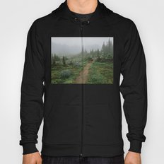 Washington Wildflower Fog Hoody