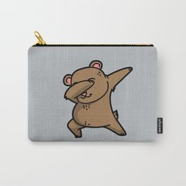 Dabbing Bear Carry-All Pouch