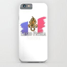 Legio Patria Nostra - French Foreign Legion iPhone Case