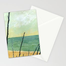 Branches on the Beach Stationery Cards