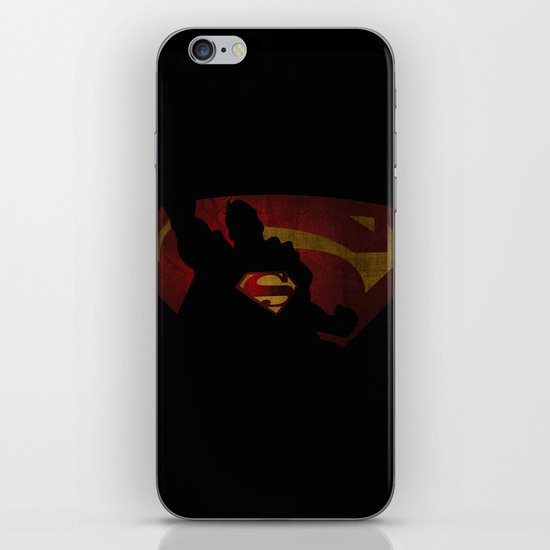 The man of sky iPhone & iPod Skin