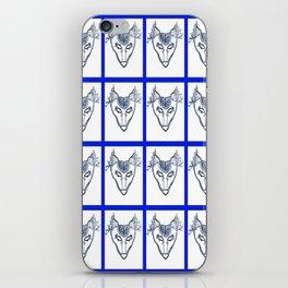 SkyWolf Print iPhone Skin