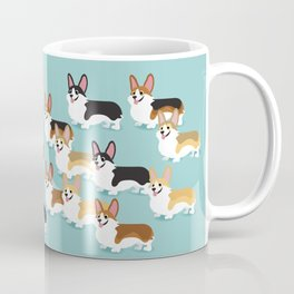 Color me Corgi Coffee Mug