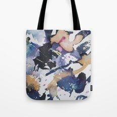#1 Blue Tote Bag