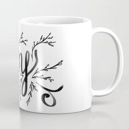 Joy and mistletoe Coffee Mug
