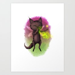 Toxic Fairy Dust Art Print